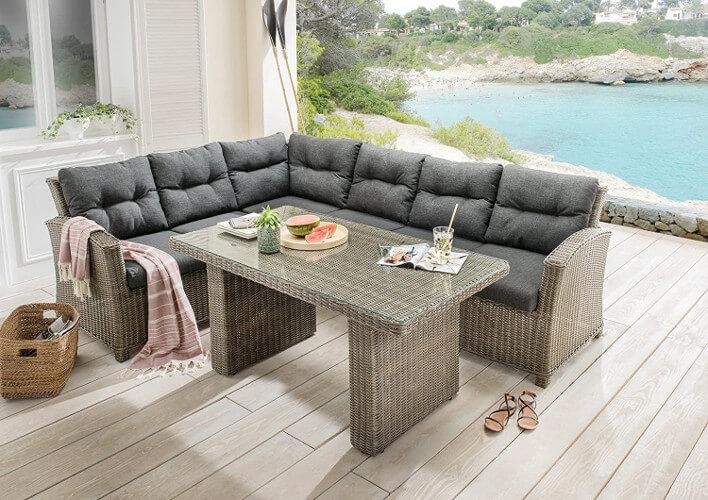 Gartenlounge-Möbel der Marke Destiny